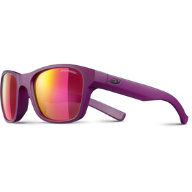 Julbo Reach Spectron 3CF Gafas de sol 6-10Años Niños, matt purple-multilayer pink